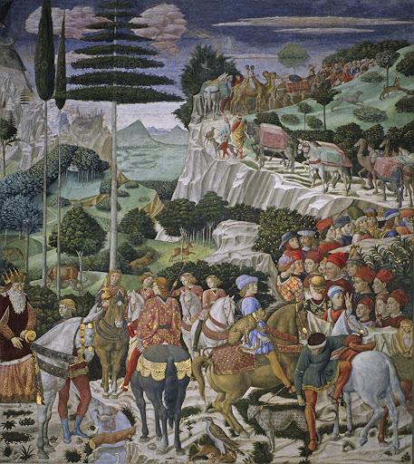 Benozzo Gozzoli freskói