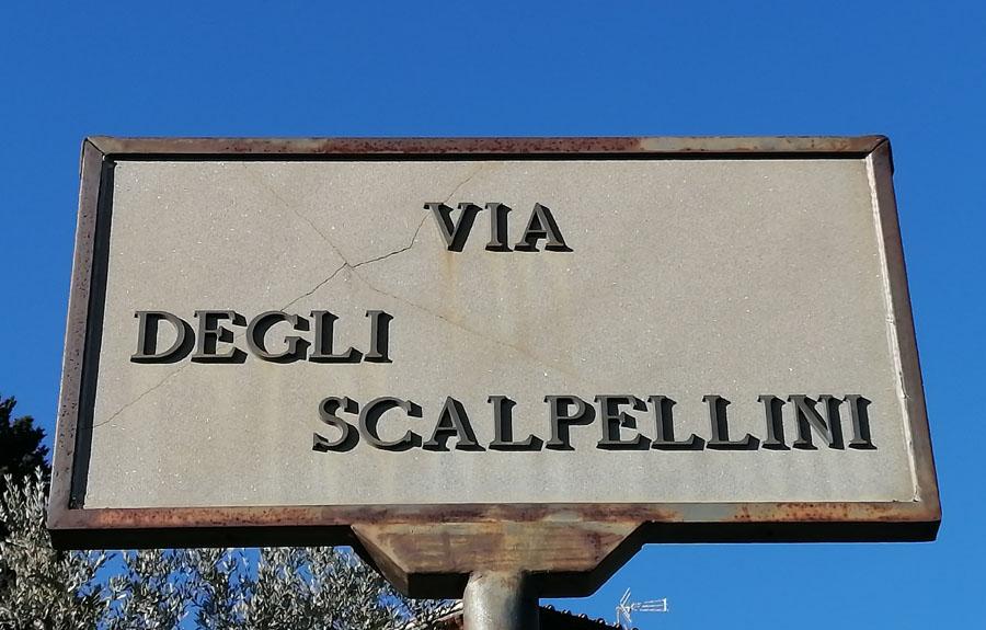 A kőfejtők útja (sentiero degli scalpellini)