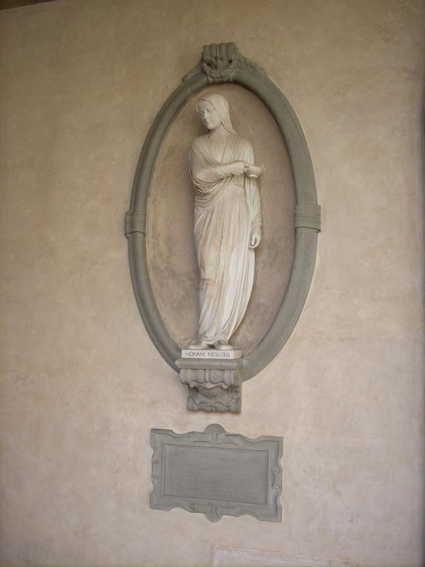 Florence Nightingale szobra Firenzében