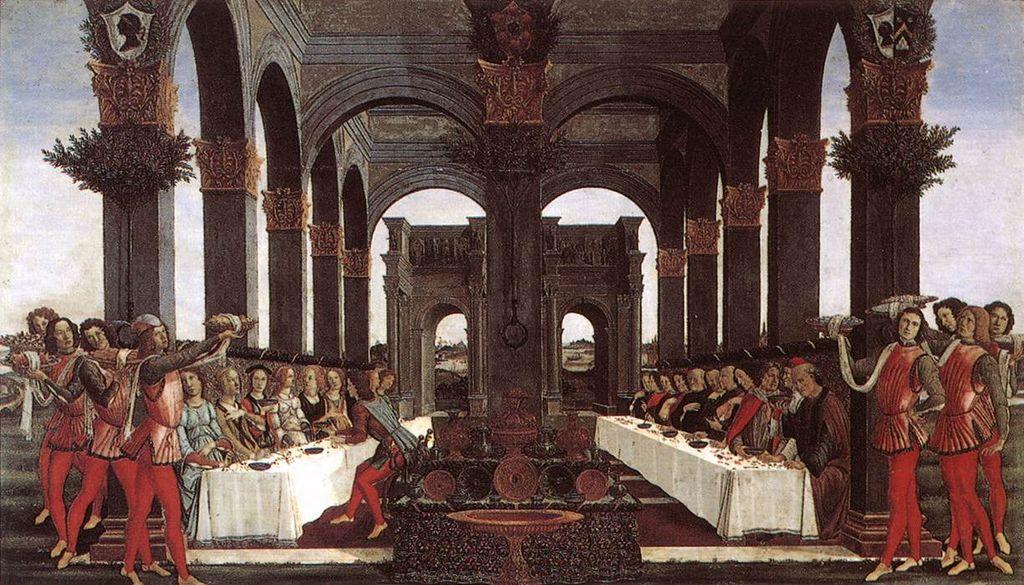 Botticelli: Nastagio története