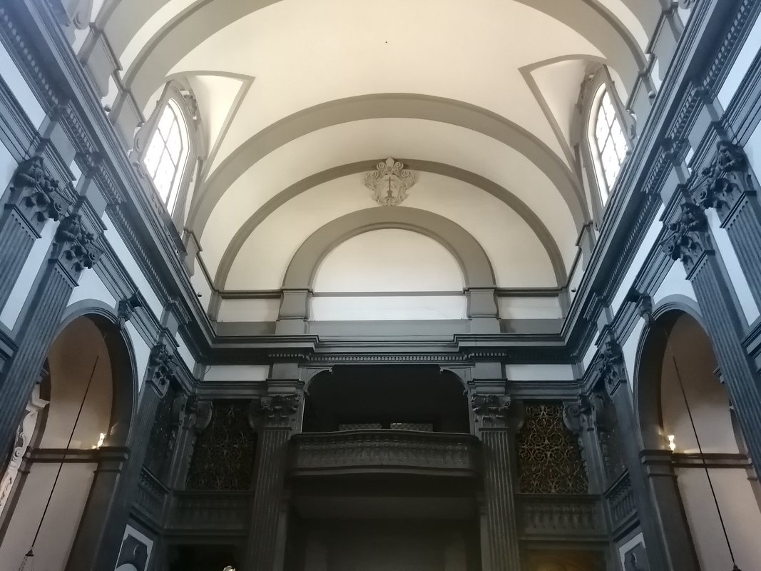 A Santa Felicita templom belseje