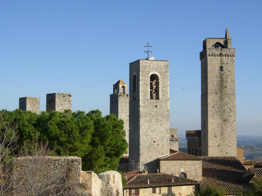 San Gimignano tornyai